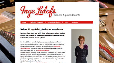 website van Inge Lulofs